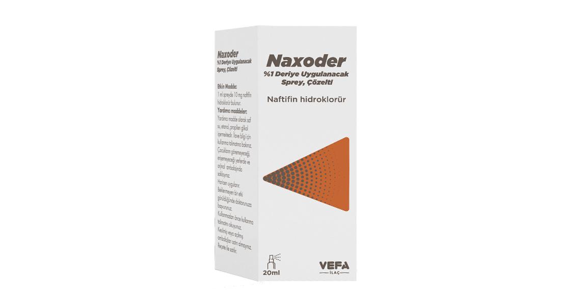 Naxoder %1 Sprey Çözelti